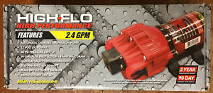 Fimco Hfp 24060 113 High flo High Performance 2 4 Gpm 60 Psi 12v Pump New