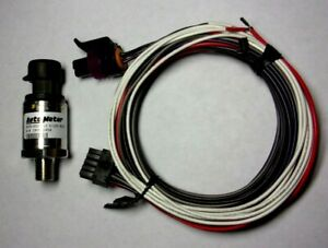 Autometer 2246 Fuel Pressure Sender 0 100 Psi 5227 Wire Harness Full Sweep Oil