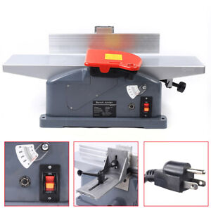 6 Jointers Woodworking Benchtop Jointer Planer Wood Cutting 2x Handle