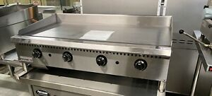 4 Griddle Flat Grill 48 Thermostat Commercial Gas Temperature Control 4 Burner