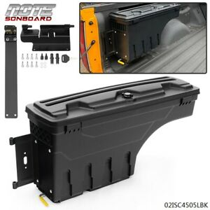 For Chevy Colorado Gmc Canyon 2015 2020 Left Side Truck Bed Storage Box Toolbox