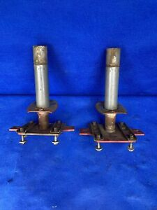 1990 1993 Ford Mustang Front Bumper Impact Shock Absorbers Support Saleen Roush