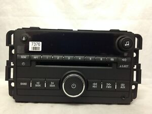 Face For 2006 Impala Monte Carlo Cd Radio Stereo New Oem Factory Original Part