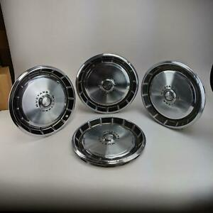 Ford Mustang Standard 14 Vintage 1971 1973 Hubcaps Wheel Cover Center Caps