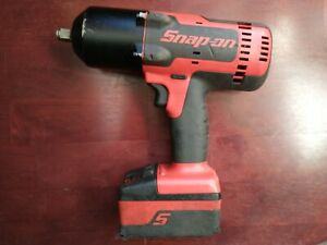 Snapon 1 2 Dr 18v Cordless Impact Wrench Ct8850 Battery Included