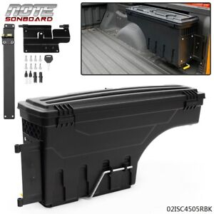 For Chevy Colorado Gmc Canyon 2015 2020 Right Side Truck Bed Storage Box Toolbox