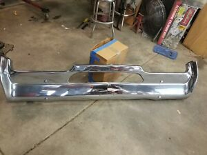 1967 Oldsmobile Cutlass 442 Front Bumper Great Driver W 30 Olds