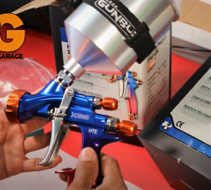 Atom X88 Lvlp Mp Professional Spray Gun Solvent Waterborne 1 3 And 1 4 Tip Combo