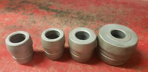Ammco 4 Pc Brake Lathe Double Ended Tapered Cone Adapter Set For 1 Arbor