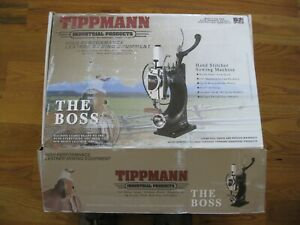 Tippmann Boss Leather Sewing Machine 3789 00 Cast Iron Version