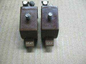 1942 1946 1947 1948 Chevrolet Heat And Defroster Switches