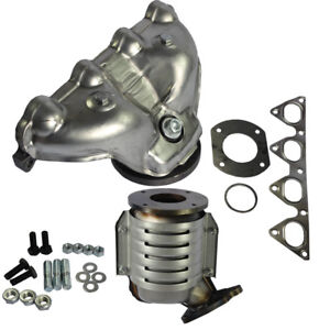 Exhaust Manifold With Integrated Catalytic Converter For 1996 2000 Honda Civic