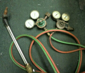 Victor St 1301 Torch Welding Tool With Gauges