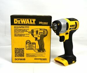 Dewalt Dcf883b 20 Volt Max Lithium Ion 3 8 Impact Wrench W Hog Ring