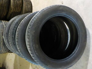 4 Kumho Solus Kh16 225 55r19 Take Off Tires 107m