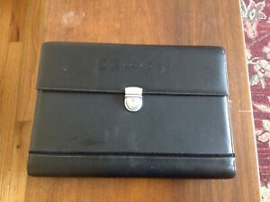Document File Bag Business Executive Papers Organizer With Lock Case New