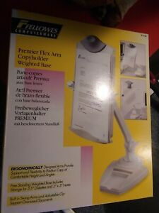 Fellowes Flex Arm Space Saver Copyholder 21127 New In Box