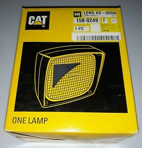 Caterpillar Cat 158 0249 Lens High Assembly New Old Stock From Shop