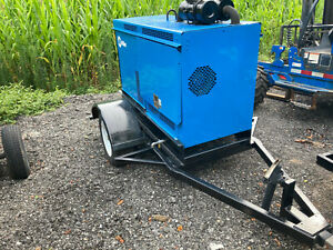 Miller Air Pak Big Blue 400 Welder Generator Air Compressor Duetz Diesel 2700 Hr