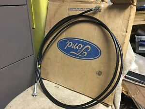 1965 1966 Ford F100 F250 F Series Truck Nos C4 A T Speedometer Cable