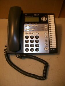At T Small Business System 4 Lines Desktop Telephone Model 1070