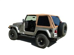Rampage 109517 Frameless Soft Top Kit Fits 97 06 Wrangler tj