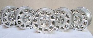 Set Of 5 Starburst Wheels W Less Than 6k Miles Factory Jaguar Xj8 98 03