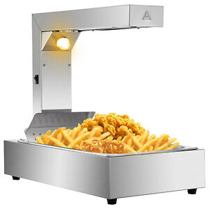 21 French Fry Warmer Commercial Dump Station Heat Lamp Food Warmer Freestanding