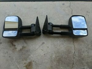 Towing Mirror Set K Source 62073 74g Gm Truck And Suv S Chevrolet Cadillac Gmc