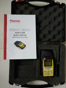 Thermo Scientific Radeye B20 Multi purpose Survey Meter alpha beta gamma
