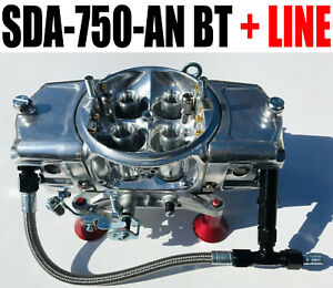 Screamin Demon Sda 750 an Bt 750 Cfm Annular Blow Thru Carb With 6 Line Kit