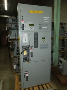 Asco 7000 Series J07atbb30150n5xc Automatic Transfer Switch 150a 3ph 480v Used