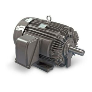 15 Hp Electric Motor 254t 3 Phase 1800 Rpm Severe Duty Teco Np0154