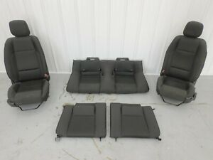 2011 2014 Ford Mustang Gt Coupe Seat Set Cloth Black Oem
