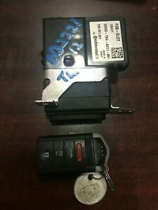 2009 2013 Acura Tl Smart Key Fob Slot Unit Assy Oem 36990 tk4 a01