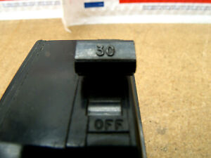Square D Qo230 30 Amp 2 Pole Circuit Breaker Plug In 120 240 Vac