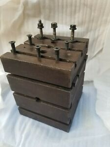 Mill T slot Work Cube Workholding Cnc Milling Tombstone Angle Tool Shaper Table