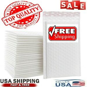 New Any Size Poly Bubble Mailers Shipping Mailing Padded Bags Envelopes