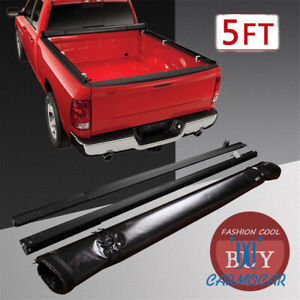 5 Bed For 05 20 Nissan 09 12 Suzuki Rugged Liner Soft Roll Up Tonneau Cover