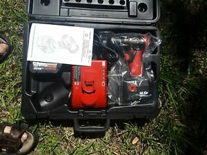 Snap On Ct4410a 3 8 Cordless Impact Wrench 2 Batteries 1 Charger Case