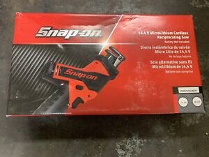 Snap On 14 4v Li Ion Gun Metal Cordless Reciprocating Saw Ctrs761 New