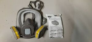 3m 6700 Full Face Respirator With Extra Set Of Filters
