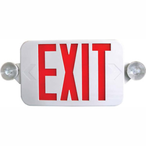 Red Led Exit Sign Ul listed Emergency Light Dual Led Lamp G11