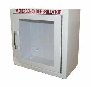Aed Defibrillator Wall Mounted Storage Cabinet