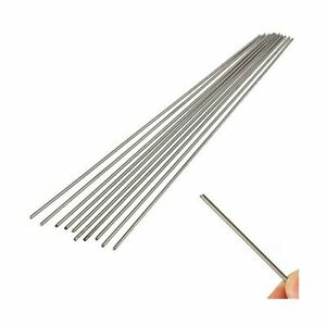 Ltkj 10pcs Grade 5 Titanium Round Bar Ti Metal Rod Diameter 2mm Length 25cm 1