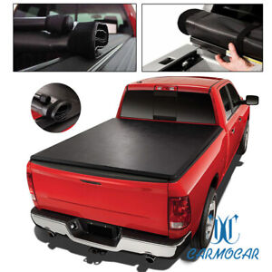 6ft Roll Up For 1989 04 Toyota Pickup Tacoma Short Bed Soft Vinyl Tonneau Cover