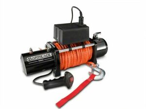 Barricade 12000 Lb Winch With Synthetic Rope