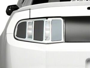 Mmd Tail Light Trim In Chrome Retro Inspired Styling Fits Ford Mustang 2010 2012
