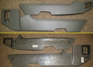 2019 2018 2017 2016 Ford F150 F250 F350 Center Console Gray Side Trim Panels Set