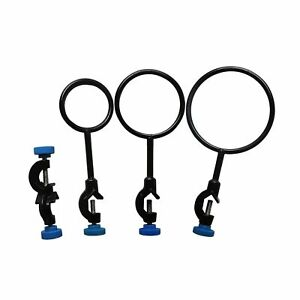 Lab Stand Support Retort Ring Set 60mm 80mm 100mm And Lab Clamp Stand Holder